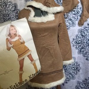 Large Eskimo costume complete